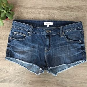 Talula Aritzia Cut off Denim Shorts